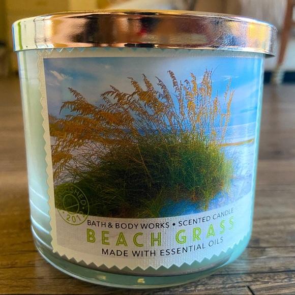 New Beach Grass candle
